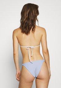 NA-KD - TWOSTRAP PANTY - Bikiniunderdel - dusty blue - 2