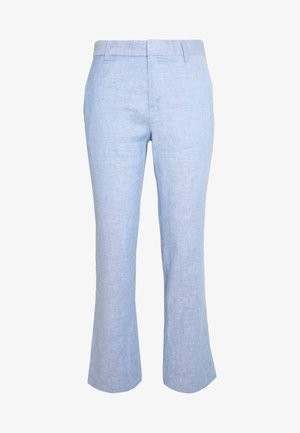 AVERY SOLIDS - Trousers - sky blue