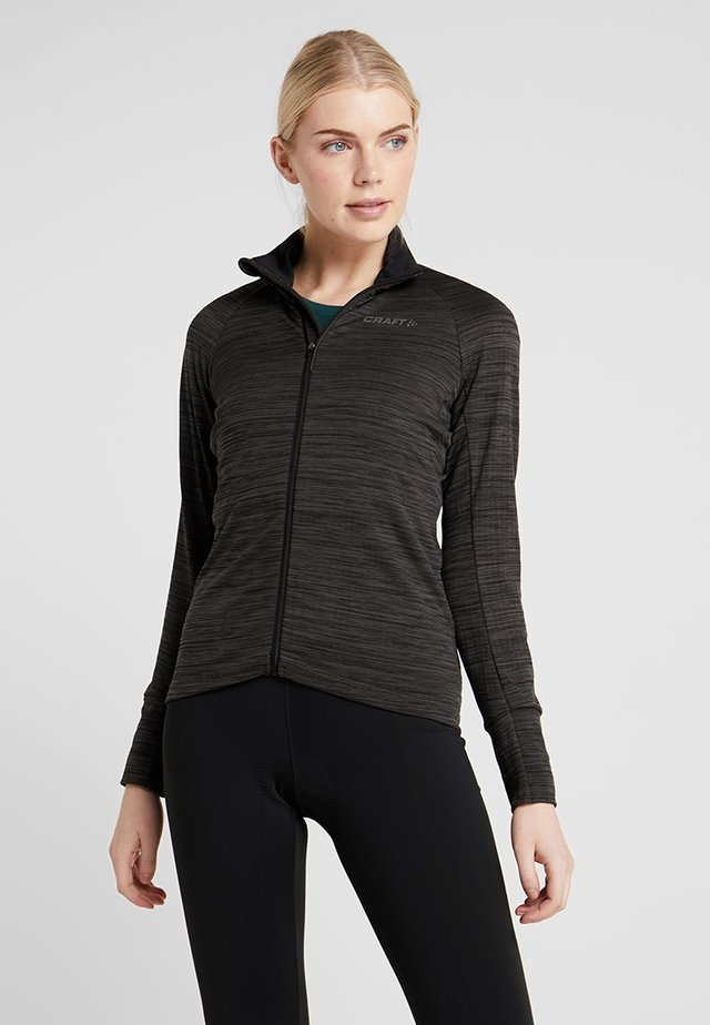 IDEAL THERMAL  - Outdoor jacket - black melange