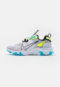Nike Sportswear - REACT VISION - Sneakers - white/black/volt/blue fury - 1