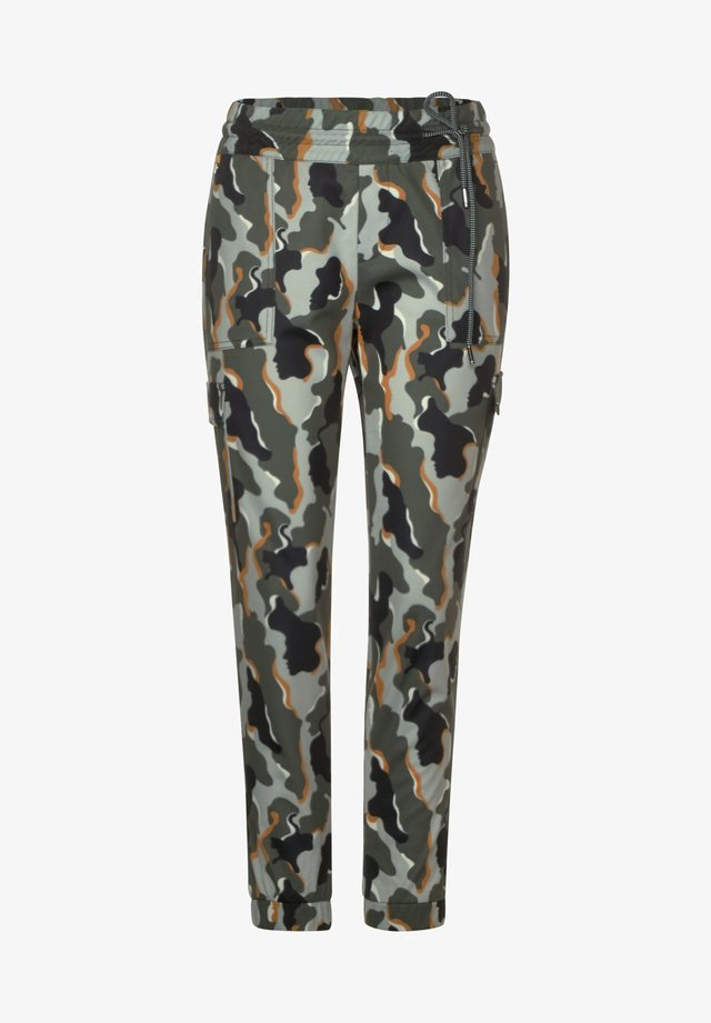 CAMOUFLAGE-MUSTER - Pantalon de survêtement - grün