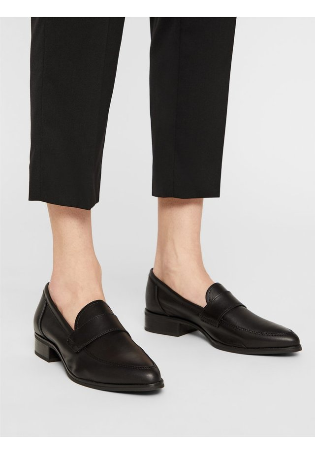BIADESHAE LOAFER - Slippers - black