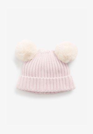 DOUBLE POM - Beanie - pink