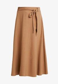 More & More - A-line skirt - caramel - 3