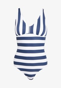 Esprit - NORTH BEACH SWIMSUIT PADDED - Swimsuit - dark blue - 5