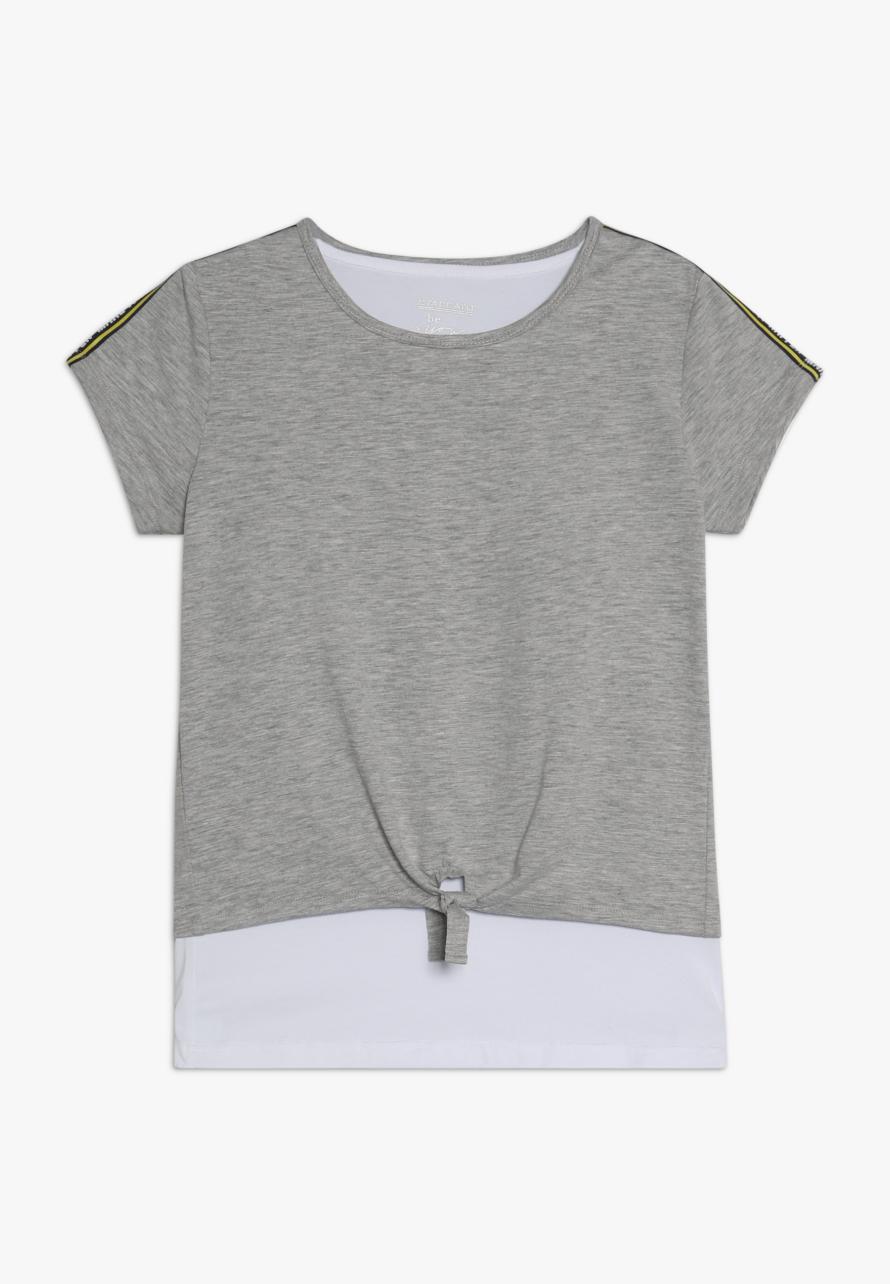Große Förderung Staccato 2IN1 TEENAGER - T-Shirt print - mid grey melange   Damenbekleidung 2020