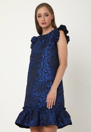 ALLTAGS GRETA - Cocktail dress / Party dress - schwarz, indigo
