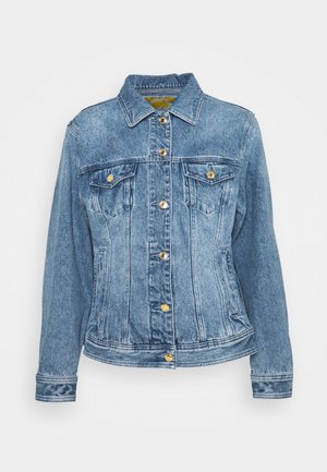 FITTED JACKET - Džínová bunda - blue denim