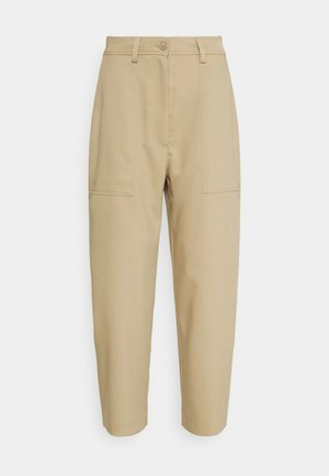 JINA TROUSER - Bukse - beige medium/dusty beige