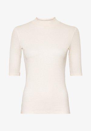 Basic T-shirt - crème