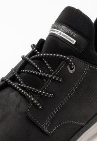 Salamander - PORTHOS - Sneakersy niskie - black - 5