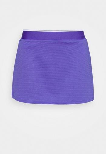 CLUB SKIRT - Sports skirt - purple/white