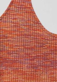 PULL&BEAR - MIT NECKHOLDER - Top - orange - 5