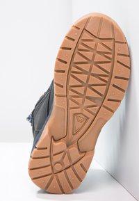 Kappa - CAMMY  - Hiking shoes - navy/orange - 4