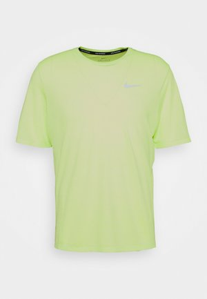 MILER  - T-shirt basic - ghost green/reflective silver