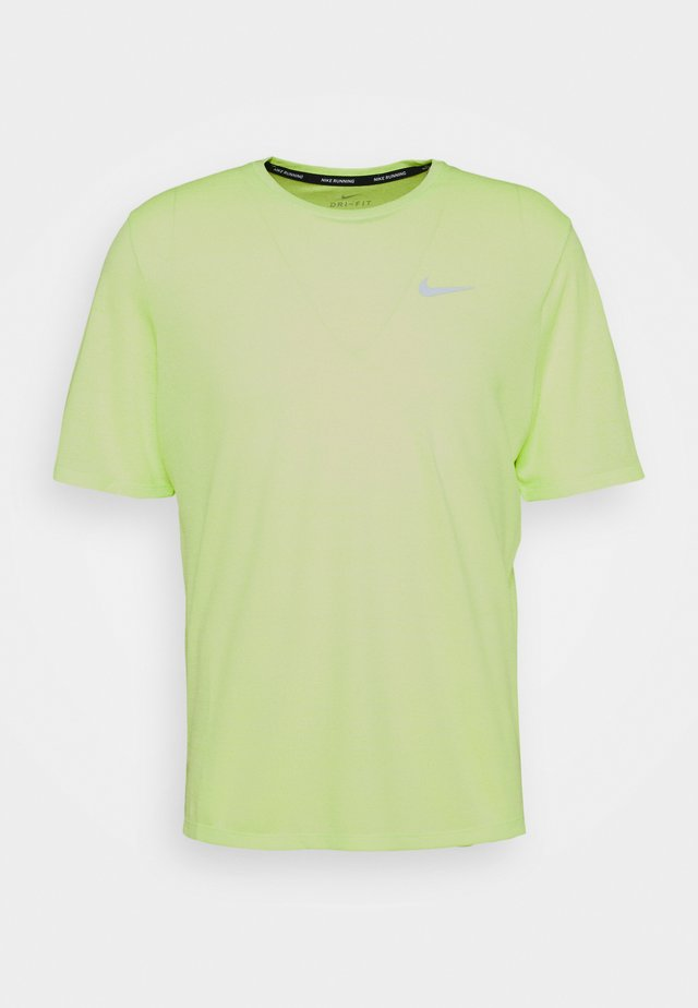 MILER  - Basic T-shirt - ghost green/reflective silver
