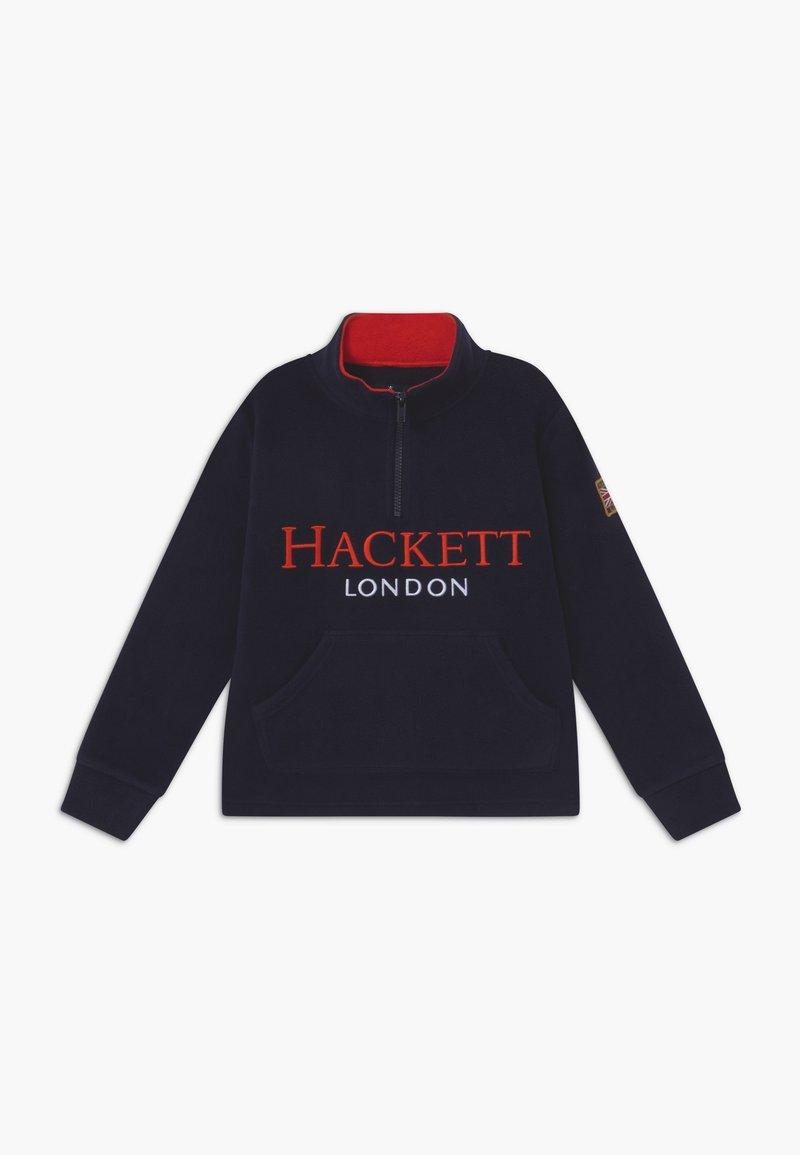 Hackett London - Fleecová mikina - navy