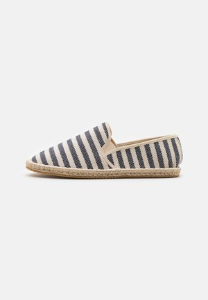 NOAH SLIP ON - Espadrilles - natural/navy