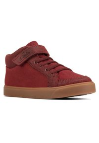 Clarks - CITY HOP KID - Lace-up ankle boots - beerenrot - 1
