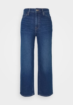 WIDE LEG - Relaxed fit jeans - dark dora