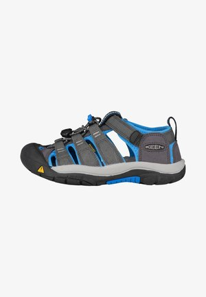 NEWPORT - Walking sandals - magnet/brilliant blue