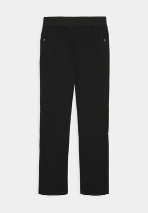 KIDS WARM LINED TROUSERS - Stoffhose - schwarz