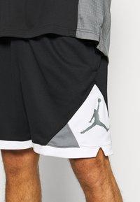 Jordan - DRY AIR DIAMOND SHORT - Sports shorts - black/white/smoke grey - 3