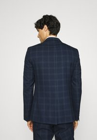 Viggo - TENN DOUBLE BREASTED SUIT - Oblek - navy - 3