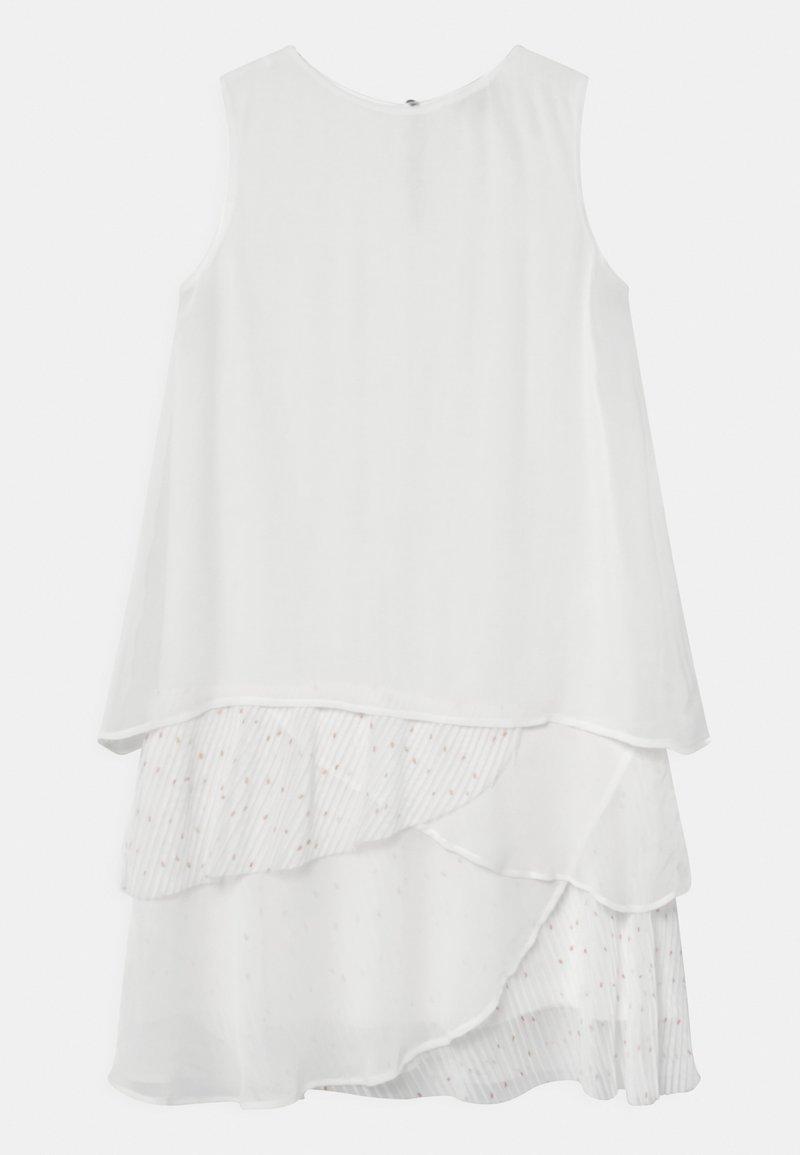 Patrizia Pepe - ABITO GEORGETTE POIS - Koktejlové šaty/ šaty na párty - white