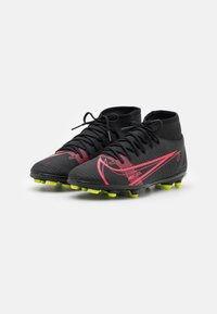 Nike Performance - MERCURIAL 8 CLUB MG - Moulded stud football boots - black/cyber - 1