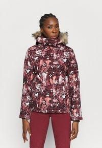 Roxy - JET SKI - Snowboard jacket - oxblood red - 0