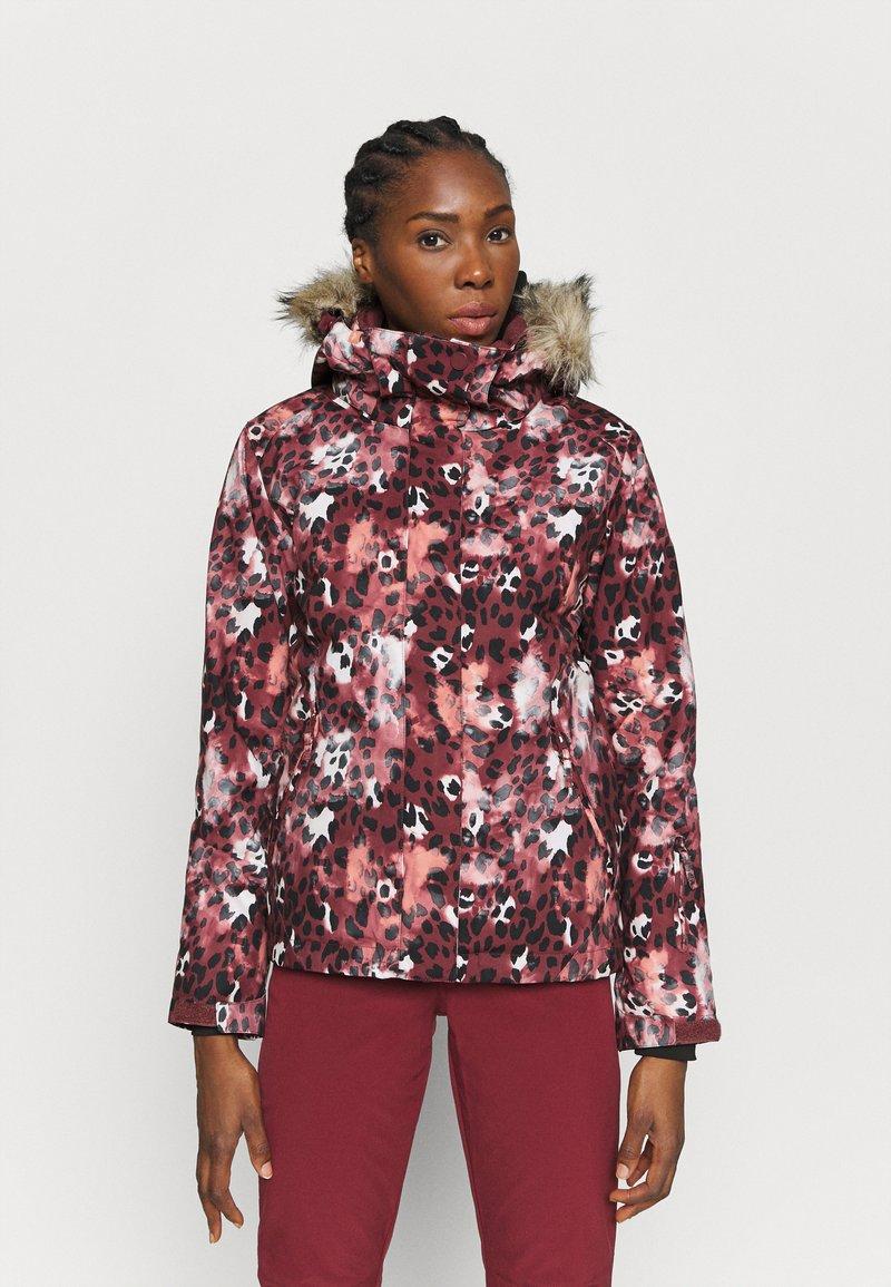 Roxy - JET SKI - Snowboard jacket - oxblood red
