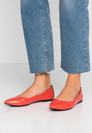 Ballet pumps - red