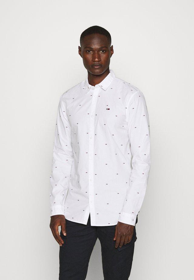 FLAG DOBBY  - Shirt - white