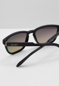 QUAY AUSTRALIA - HARDWIRE - Okulary przeciwsłoneczne - black/navy - 4