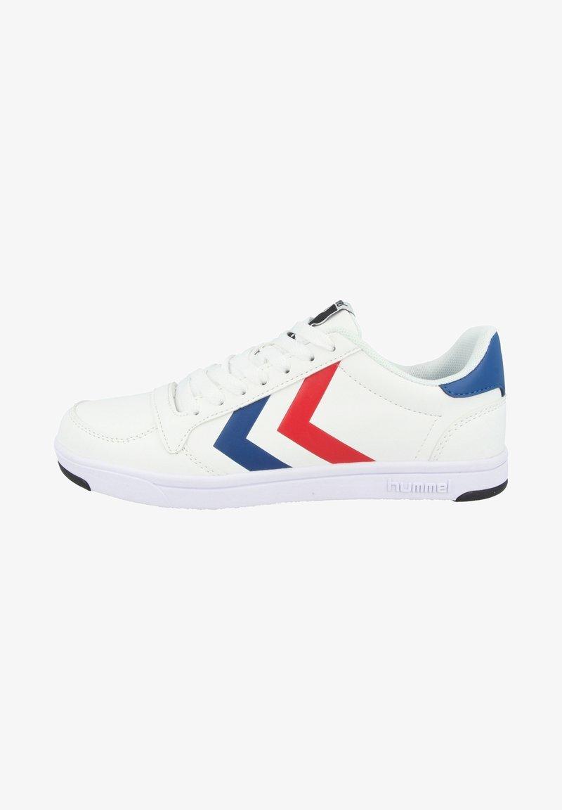 Hummel - STADIL - Sneakersy niskie - white/blue/red