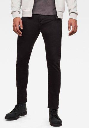D-STAQ 5-PKT SLIM AC - Jeans slim fit - black