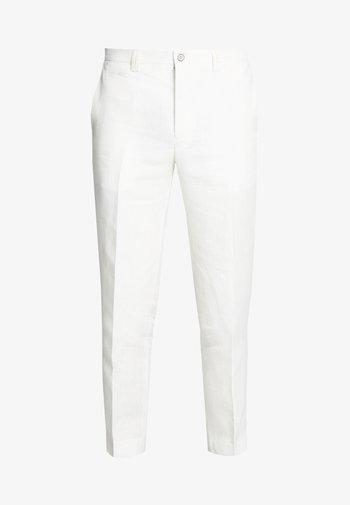 FINNMARK TROUSER - Pantalon classique - white