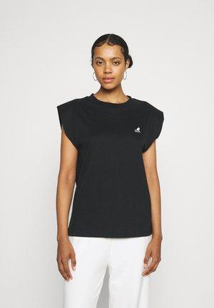 QUEENS TANK - T-shirt print - black