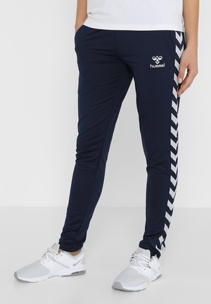 NELLY PANTS - Tracksuit bottoms - black iris