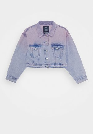 GIRLS - Denim jacket - pink denim