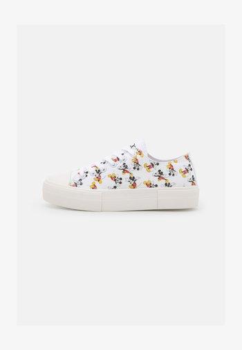 DISNEY - Sneakers basse - white