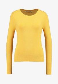 ONLVENICE O-NECK - Jumper - yolk yellow