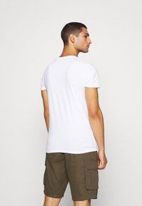 Hollister Co. - SEASONAL CREW 3 PACK  - T-shirt med print - blue - 2