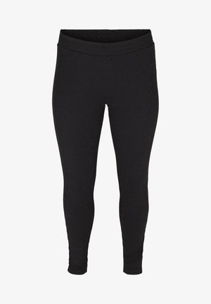 SPARKLY  - Leggings - Trousers - black