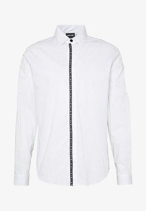 LOGO TAPING - Overhemd - white