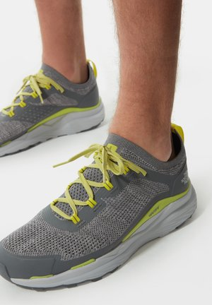 M VECTIV ESCAPE - Hiking shoes - zincgrey sulphurspringgrn