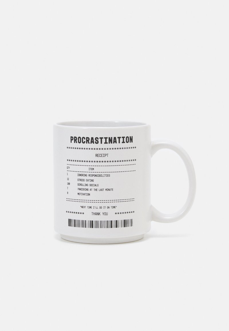 TYPO - DAILY MUG UNISEX 4 PACK - Other accessories - white