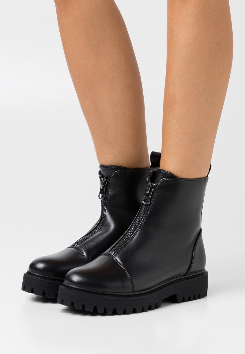 Even&Odd Wide Fit - Winter boots - black