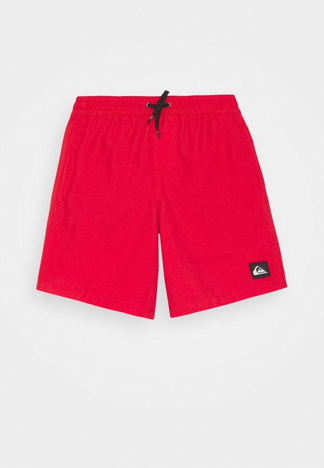 EVERYDAY VOLLEY YOUTH - Surfshorts - high risk red